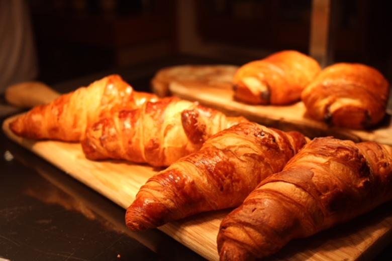 Croissants in the Café