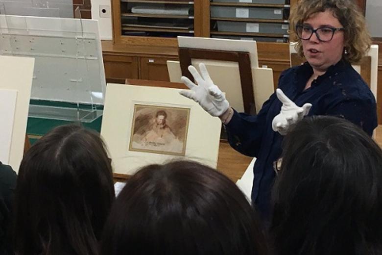 An Van Camp discussing Rembrandt