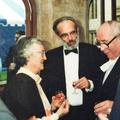 The Master Dick Repp with Ruth Van H and the Chancellor