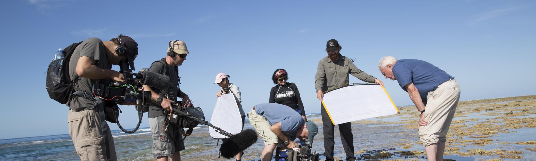 attenborough filming