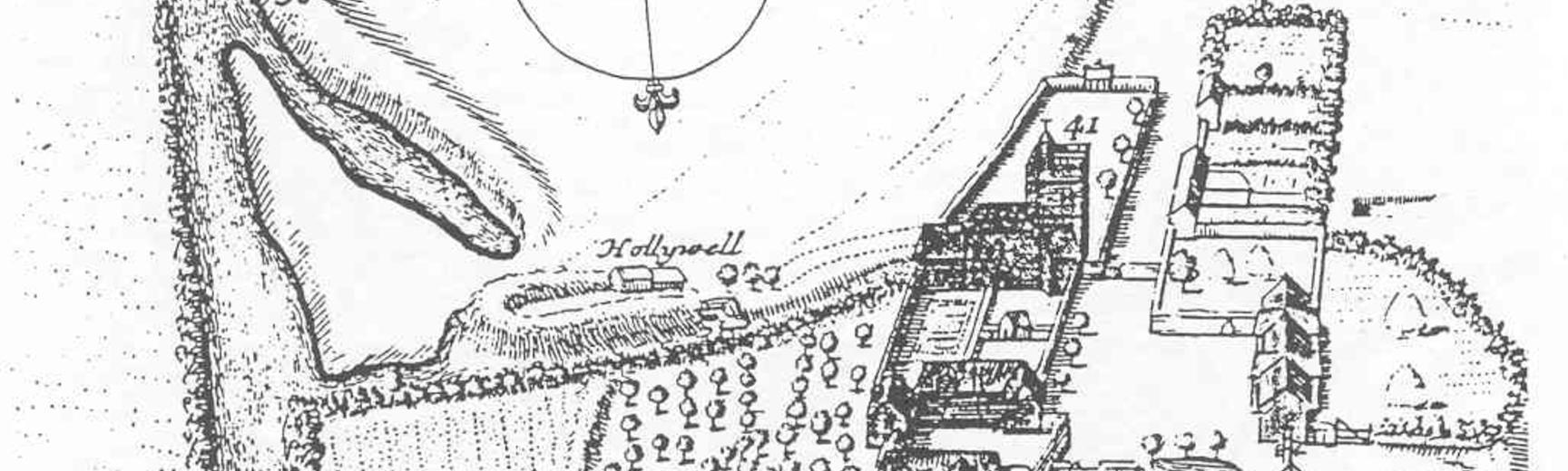 1675 Loggan Map Holywell