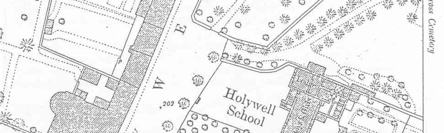 1874 Survey of St Cross Road