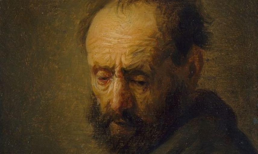 rembrandt bearded man