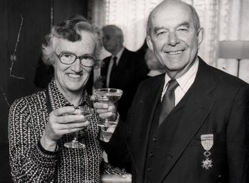 Ruth and Kits in 1980