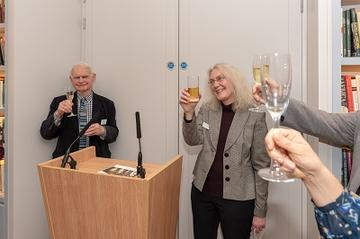 Raising a toast to James Currey