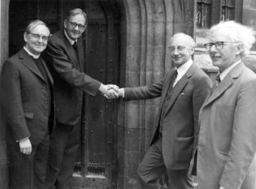 Handover of the Pusey Site 1980