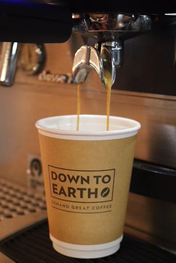 Fresh Coffee in the Café