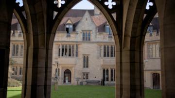 Blackwell Quad, St Cross College