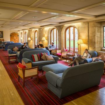 The Saugman Common Room