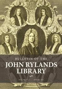 the bulletin of the john rylands library